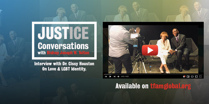 Interview with Dr. Cissy Houston- Justice Conversations